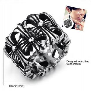 アクセサリー リング クロムハーツ風 指輪 BIGBANG gd 着用タイプ(リング(指輪))