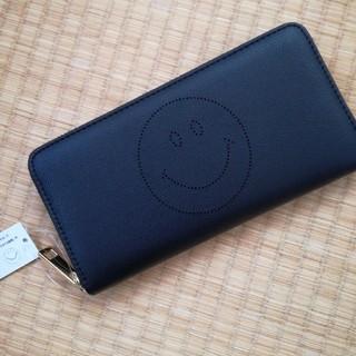 シマムラ(しまむら)の新品 しまむら スマイル 長財布 ブラック(財布)