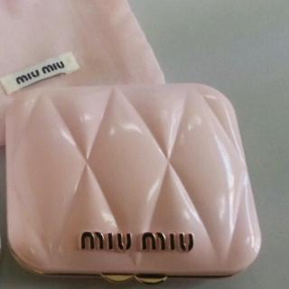 ミュウミュウ(miumiu)の新品★ミュウミュウ ピンク ミラー★ ロー ロゼ(香水(女性用))