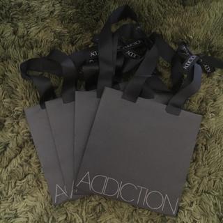 ADDICTION ショップバッグ4枚セット