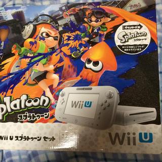 Wii U - Wii Uスプラトゥーンセット白32GB値下げ