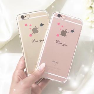 ➴「Love you」➴エンジェルアロー クリアケース(iPhoneケース)