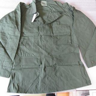 米軍デッドストック BDUジャケット RIP-STOP SMALL-REG(フライトジャケット)