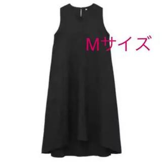 MUJI (無印良品) - 今季 新品   無印良品 フレンチリネン洗いざらしノースリーブワンピース