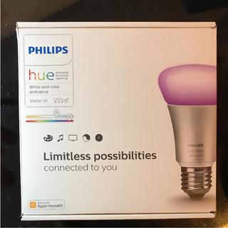 フィリップス(PHILIPS)のHue v2 philips フィリップス スマート照明 スターターセット(蛍光灯/電球)