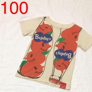 バハスマイル(BAJA SMILE)の100 BajaSmile バクプリも可愛い パロディTシャツ(Tシャツ/カットソー)