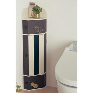 ベルメゾン(ベルメゾン)のチップとデール トイレコーナーラック(トイレ収納)