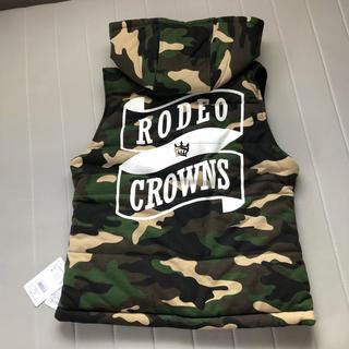 ロデオクラウンズ(RODEO CROWNS)のロデオクラウン  ベスト(ダウンベスト)