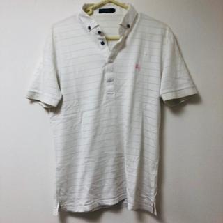バーバリーブラックレーベル(BURBERRY BLACK LABEL)のmen'sL Burberry ポロシャツ(ポロシャツ)