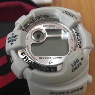 ベビージー(Baby-G)のベビーG フロッグマン Gショック 美品(腕時計(デジタル))