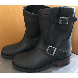 アルファインダストリーズ(ALPHA INDUSTRIES)のALPHA INDUSTRIES  レディースエンジニアブーツ ブラック(ブーツ)