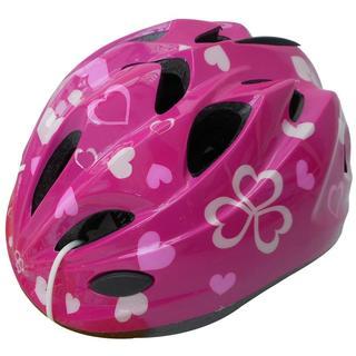 ヘルメット キッズ ハートピンク 46401 S(自転車)