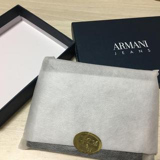 アルマーニジーンズ(ARMANI JEANS)のアルマーニ メンズ 二つ折り財布(折り財布)