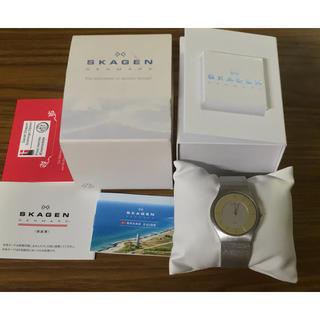 スカーゲン(SKAGEN)の★美品 スカーゲン SKAGEN 233LSS クオーツ腕時計★(腕時計(アナログ))
