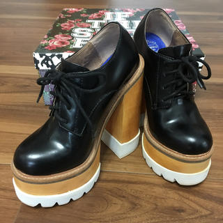 ジェフリーキャンベル(JEFFREY CAMPBELL)のジェフリーキャンベル レースシューズ(ローファー/革靴)