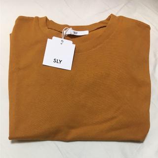 スライ(SLY)の[新品未使用]sly 半袖tシャツ(Tシャツ(半袖/袖なし))