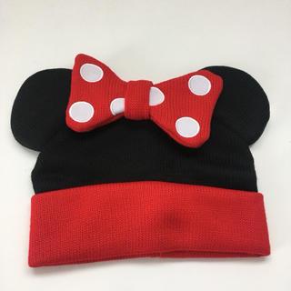 ディズニー(Disney)のミニーちゃん ニット帽 ディズニーシー(ニット帽/ビーニー)