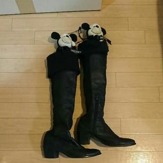 ヒロコビス(HIROKO BIS)のスエードロングブーツ❤美品💡(ブーツ)