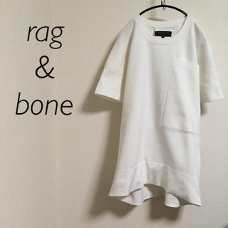 ラグアンドボーン(Rag & Bone)のrag&bone  ラグ&ボーン ビッグシルエット ボックスシルエット(Tシャツ(半袖/袖なし))