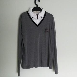 バイタススタンダード(by Tass Standard)のby tass レイヤード カットソー(Tシャツ/カットソー(七分/長袖))