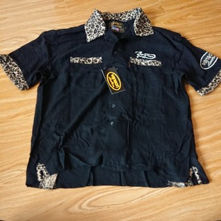 バンソン(VANSON)の【価格の相談対応します。】バンソン 半袖シャツ ブラック(Tシャツ/カットソー(半袖/袖なし))