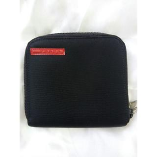 プラダ(PRADA)のプラダスポーツ 2つ折りウォレット 黒(財布)