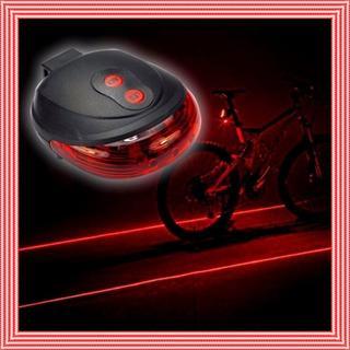 点滅☆自転車 後部ランプ 警告灯 防水 自転車 レーザーテールライト