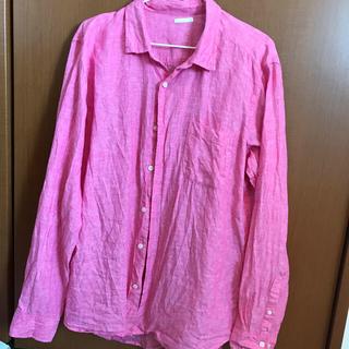 ジーユー(GU)のピンクシャツ(シャツ)