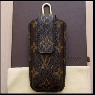 ルイヴィトン(LOUIS VUITTON)の値下げしました ルイヴィトン 携帯ケース モバイルケース 確実正規品(タバコグッズ)