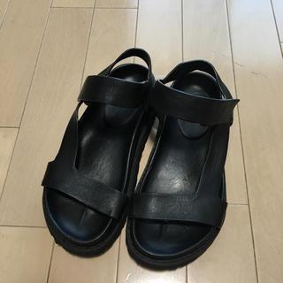 ENFOLD  サンダル  黒 36