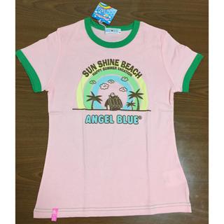 エンジェルブルー(angelblue)の【新品未使用】Tシャツ ピンク ❤︎ 150 ❤︎ エンジェルブルー(Tシャツ/カットソー)