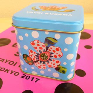 ルピシア(LUPICIA)の限定 草間彌生 紅茶 缶 ルピシア FLOWERS(茶)