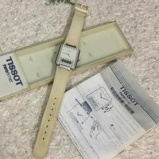 ティソ(TISSOT)のTISSOT TWOTIMER 時計、異なる2ヶ所の時間表示(腕時計)