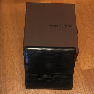 ルイヴィトン(LOUIS VUITTON)のルイヴィトン  エピ 三つ折り財布(折り財布)