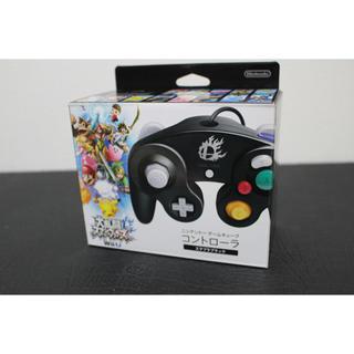 任天堂 - ゲームキューブコントローラー GC スマブラブラック