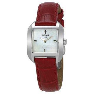ティソ(TISSOT)の【新品 正規品】ティソ TISSOT レディース スクエア ウォッチ 腕時計(腕時計)