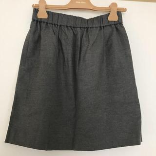 ユナイテッドバンブー(united bamboo)のバイカラー スカート(ひざ丈スカート)