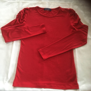 エムズグレイシー(M'S GRACY)のM'sGRACY 長袖Tシャツ(Tシャツ(長袖/七分))