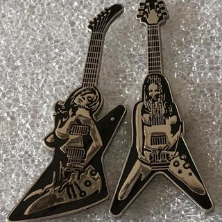 ギターガール ピンズ 2個セット