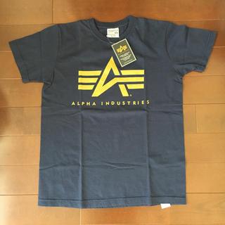アルファインダストリーズ(ALPHA INDUSTRIES)の《新品》ALPHA INDUSTRIES LOGO Tシャツ サイズM(Tシャツ/カットソー(半袖/袖なし))