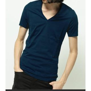 アトウ(ato)のato  Vネックカットソー アトウ(Tシャツ/カットソー(半袖/袖なし))