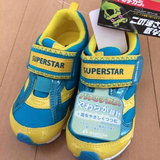 ムーンスター(MOONSTAR )の新品!17.0 バネのチカラ やわらか設計 スーパースター ムーンスター(スニーカー)