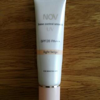 ノブ(NOV)のノブ ベースコントロールスムース UV ライトベージュ(化粧下地)