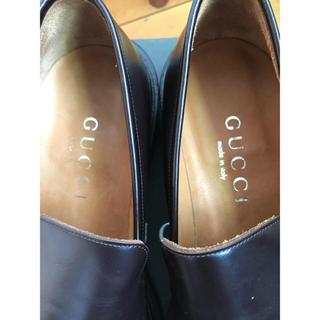 グッチ(Gucci)のGUCCI グッチ 革靴 ローファー スリッポン 未使用訳あり45 大きな靴(スリッポン/モカシン)