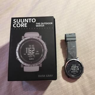 スント(SUUNTO)のSUUNTO CORE DUSK GRAY スント コア ダスクグレー(腕時計(デジタル))