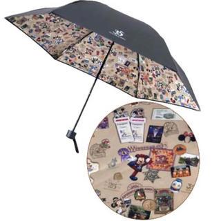 ディズニー(Disney)のディズニー 35周年限定 ヒストリー柄 日傘 新品未使用(傘)