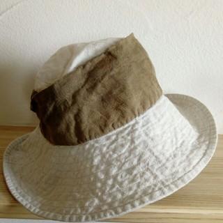 サマンサモスモス(SM2)のリネン 帽子(ハット)