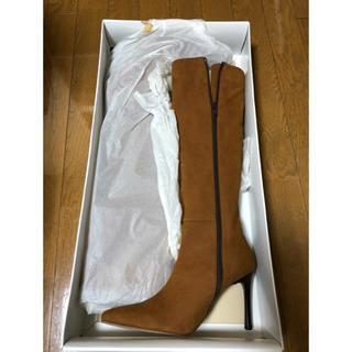 ブラウン新品ブーツ(ブーツ)