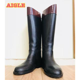 エーグル(AIGLE)のAIGLE ジョッキー レインブーツ 37(レインブーツ/長靴)