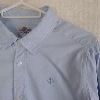コーエン(coen)のシャツ coen 水色(シャツ/ブラウス(長袖/七分))